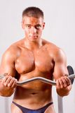 Beginner Bodybuilder Royalty Free Stock Photos