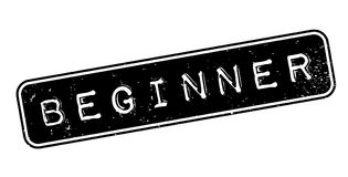 Beginner rubber stamp Royalty Free Stock Images