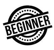 Beginner rubber stamp Royalty Free Stock Image