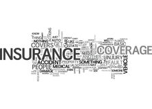 Beginner S Guide To Auto Insurance Word Cloud Royalty Free Stock Image