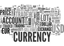 Beginner S Overview Of Foreign Currency Exchange Word Cloud Stock Photo