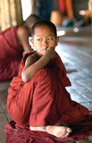 Beginnermonnik, Myanmar Royalty-vrije Stock Foto