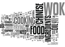 A Beginners Guide To Chinese Cookeryword Cloud Stock Illustration