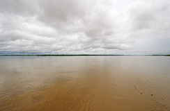 Beginning of the Amazon River Royalty Free Stock Photography