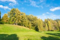 The beginning of autumn Stock Photos