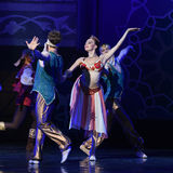 "At the beginning of the dance- ballet ""One Thousand and One Nights"" Stock Image"