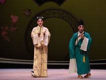 "The beginning of the encounter-Kunqu Opera ""the West Chamber"" Stock Images"