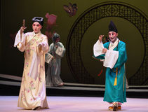 "The beginning of the encounter-Kunqu Opera ""the West Chamber"" Royalty Free Stock Image"