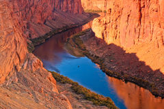 Beginning of Grand Canyon. The beginning of Grand Canyon at lake Powell in Arizona Royalty Free Stock Photography