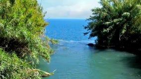 Beginning of Lower Duden Waterfall stock video