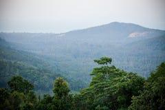 Beginning of morning at Koh Samui Viewpoint Royalty Free Stock Images