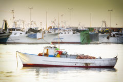 The beginning of a new day fishing Stock Photography