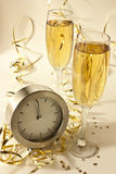 Beginning of the new year. New year's eve party Stock Photos