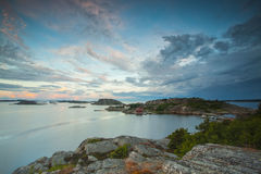 Free Beginning Of The Oslofjord Seen From The Swedish Side Stock Image - 91098871