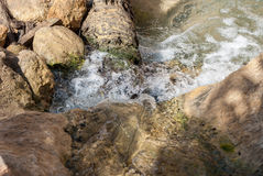 The beginning of a river in the desert Royalty Free Stock Photo