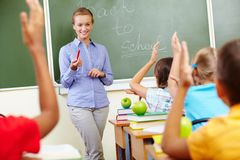 Beginning of school year Royalty Free Stock Photo