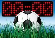 Beginning soccer game. Vector illustartion vector illustration