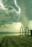 The beginning of the tornado Royalty Free Stock Photography