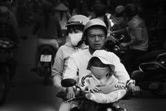 Beginnt ha Noi-Verunreinigungskampf Lizenzfreie Stockfotografie