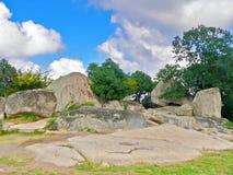 Free Beglik Tash  Is A Prehistoric Rock Sanctuary. Ancient Cultures. Touristic Places. Stock Image - 178227131