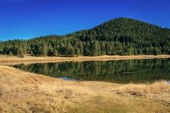 Beglika Dam, Bulgaria. Beautiful place in heart of Rhodope Mountain. Beglika Dam is located in Pazardzhik, Bulgaria stock photography