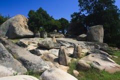 Begliktash - Thracian heiligdom, Bulgarije Royalty-vrije Stock Foto