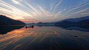 Begnas озера Стоковые Изображения