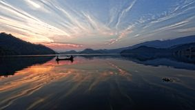 湖begnas 库存图片