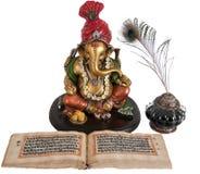 begnning лорд ganpati индусский новый Стоковая Фотография RF