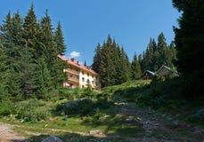 Begovitsa hut, Pirin, Bulgaria Royalty Free Stock Images