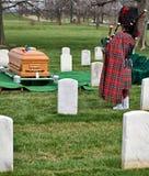 Begräbnis- Dirge Stockbild