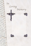 Begräbnis- Gastbuch Stockbild