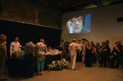 Begräbnis- Valeria Novodvorskaya Lizenzfreie Stockfotos