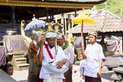 Begräbnis- Zeremonie Stockfoto