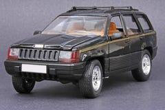 begränsande cherokee storslagen jeep Royaltyfri Fotografi