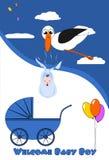 Begrüßen Sie Baby Lizenzfreie Stockbilder