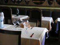 Begrüßen Sie zu unserem Resto 2 Stockfoto