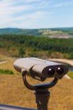 Begrüßungszentrum-Ausblick-Teleskop PA-Weg-15 Lizenzfreies Stockfoto