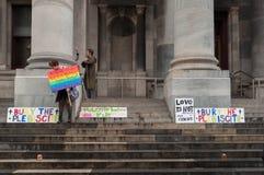 Begraaf de Volksstemming Stock Foto
