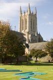 Begraaf St Edmunds gek golf en Kathedraal Stock Foto's