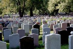 Begraafplaats. Royalty-vrije Stock Foto's