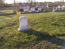Begraafplaats stock foto's