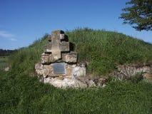 Begraafplaats royalty-vrije stock afbeeldingen