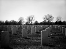Begraafplaats Royalty-vrije Stock Foto's