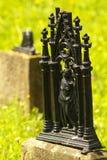in begraafplaats Royalty-vrije Stock Afbeelding