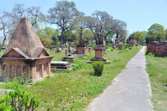 Begraafplaats bij Britse Residentie Stock Foto