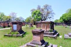 Begraafplaats bij Britse Residentie Stock Foto's