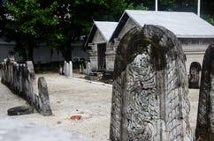 Begraafplaats in de Maldiven Stock Afbeeldingen