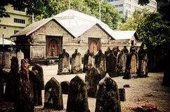 Begraafplaats in de Maldiven Royalty-vrije Stock Foto's