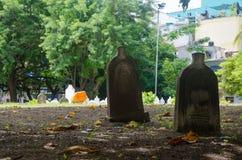 Begraafplaats in de Maldiven Stock Foto's